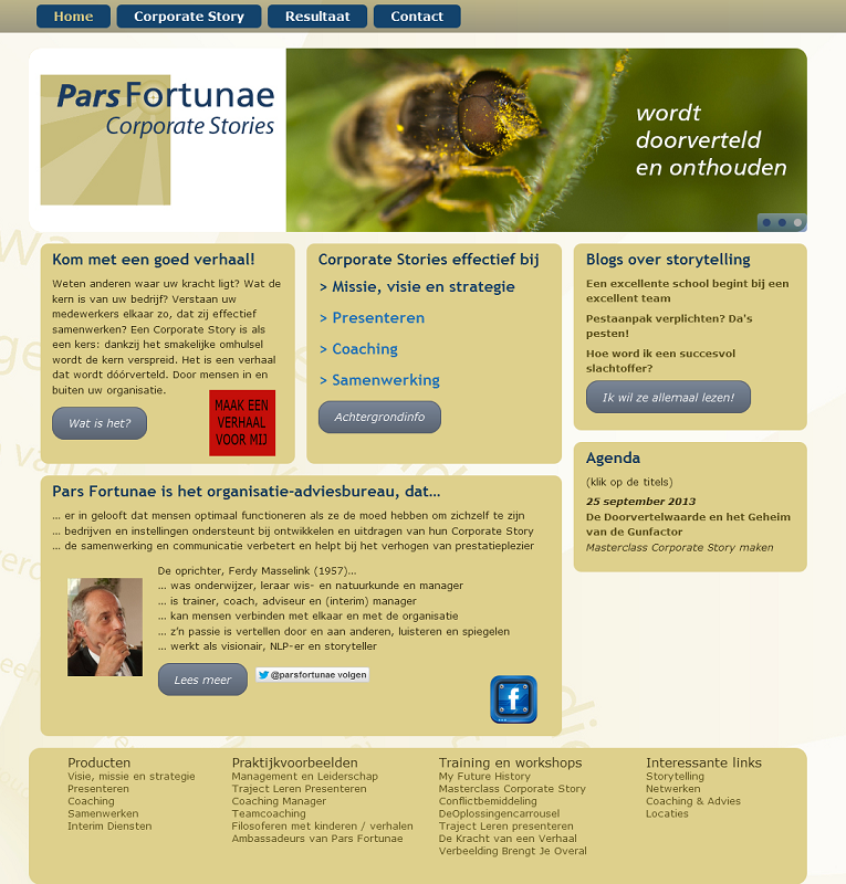 Wordpress-template Pars Fortunae Hengelo