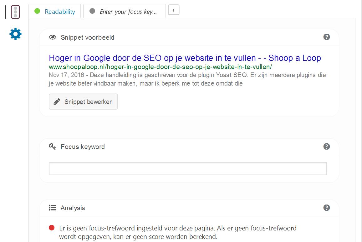 Hoger in Google door de SEO op je website in te vullen