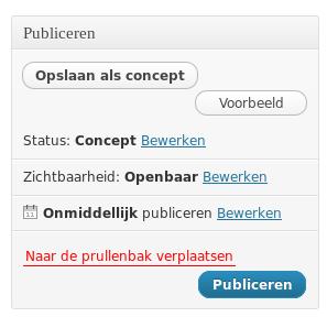 pagina-publiceren-wp